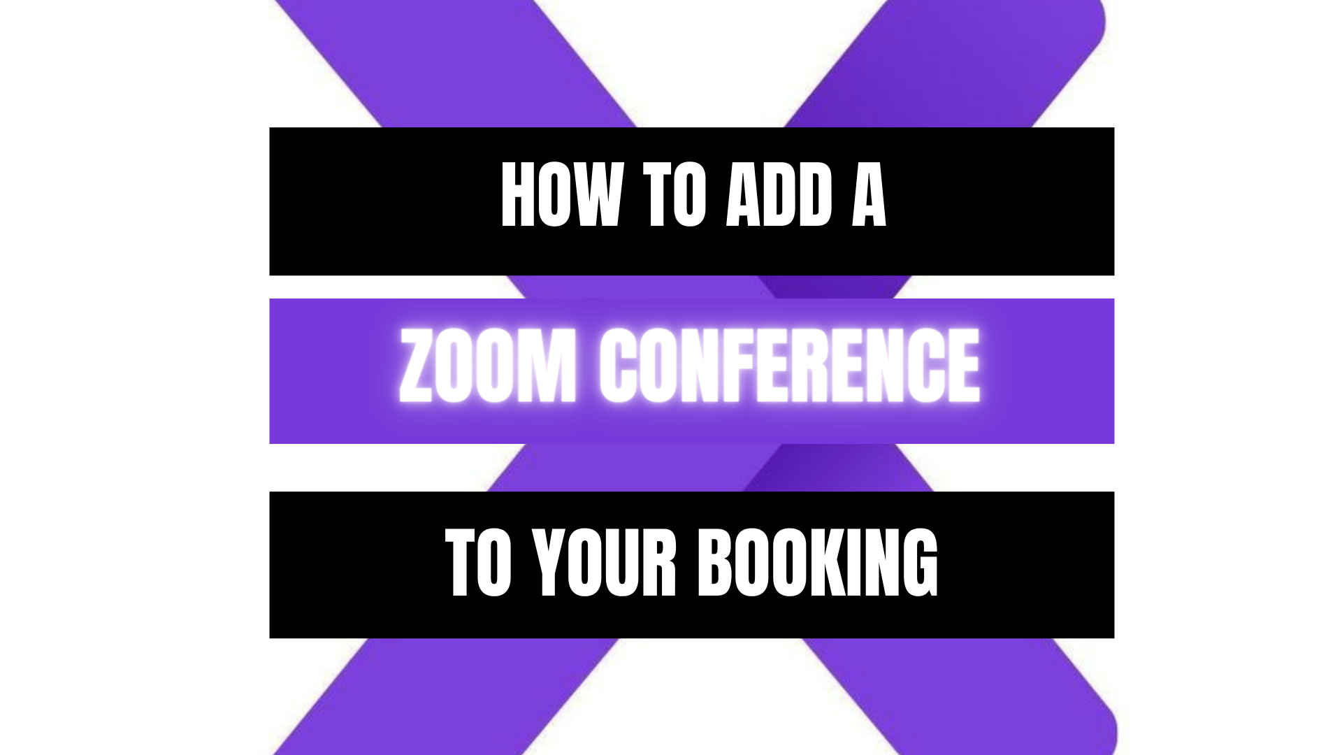 Peekaboox - How to add a Zoom Conference