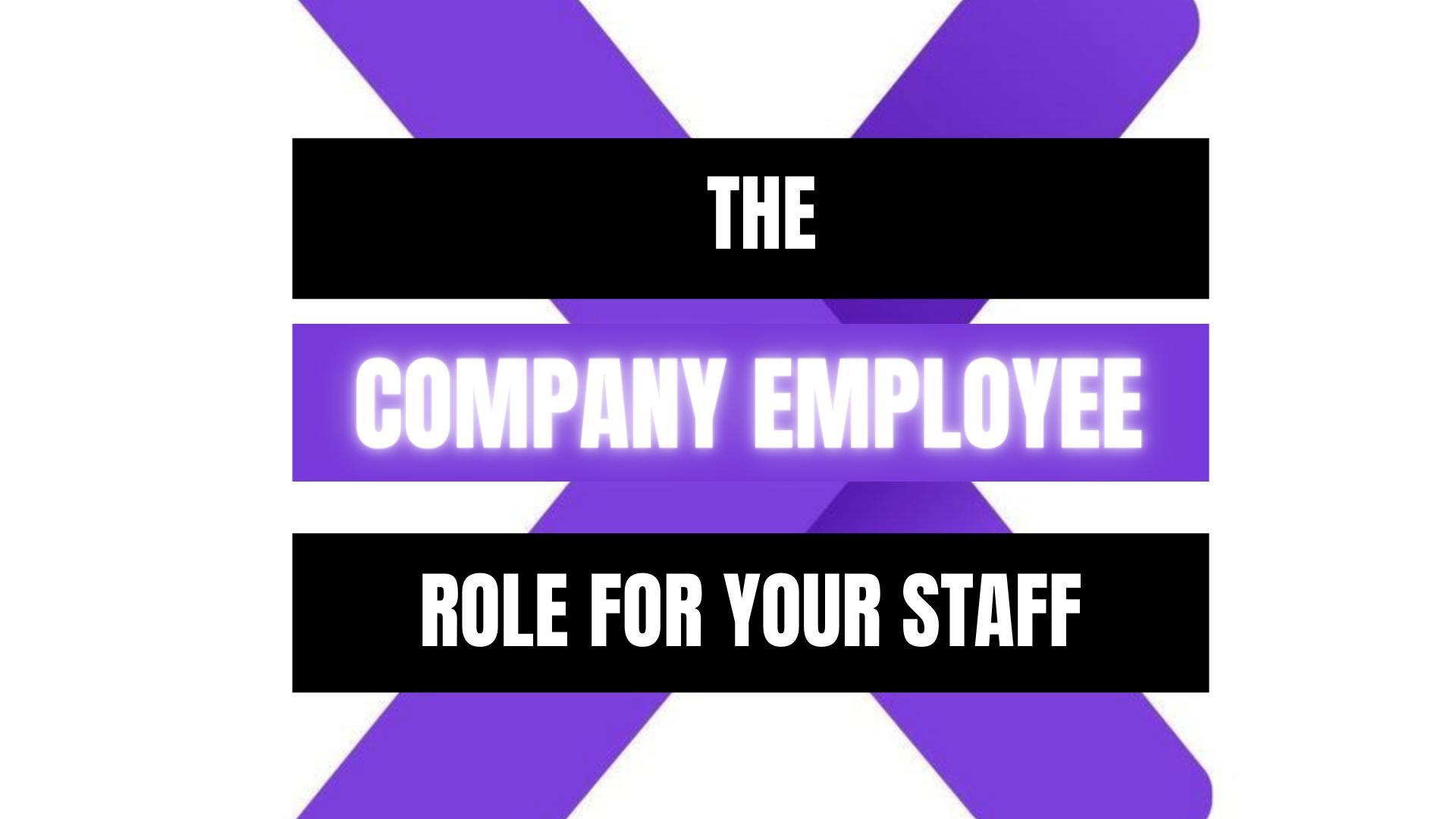 Peekaboox - Company Employee Role