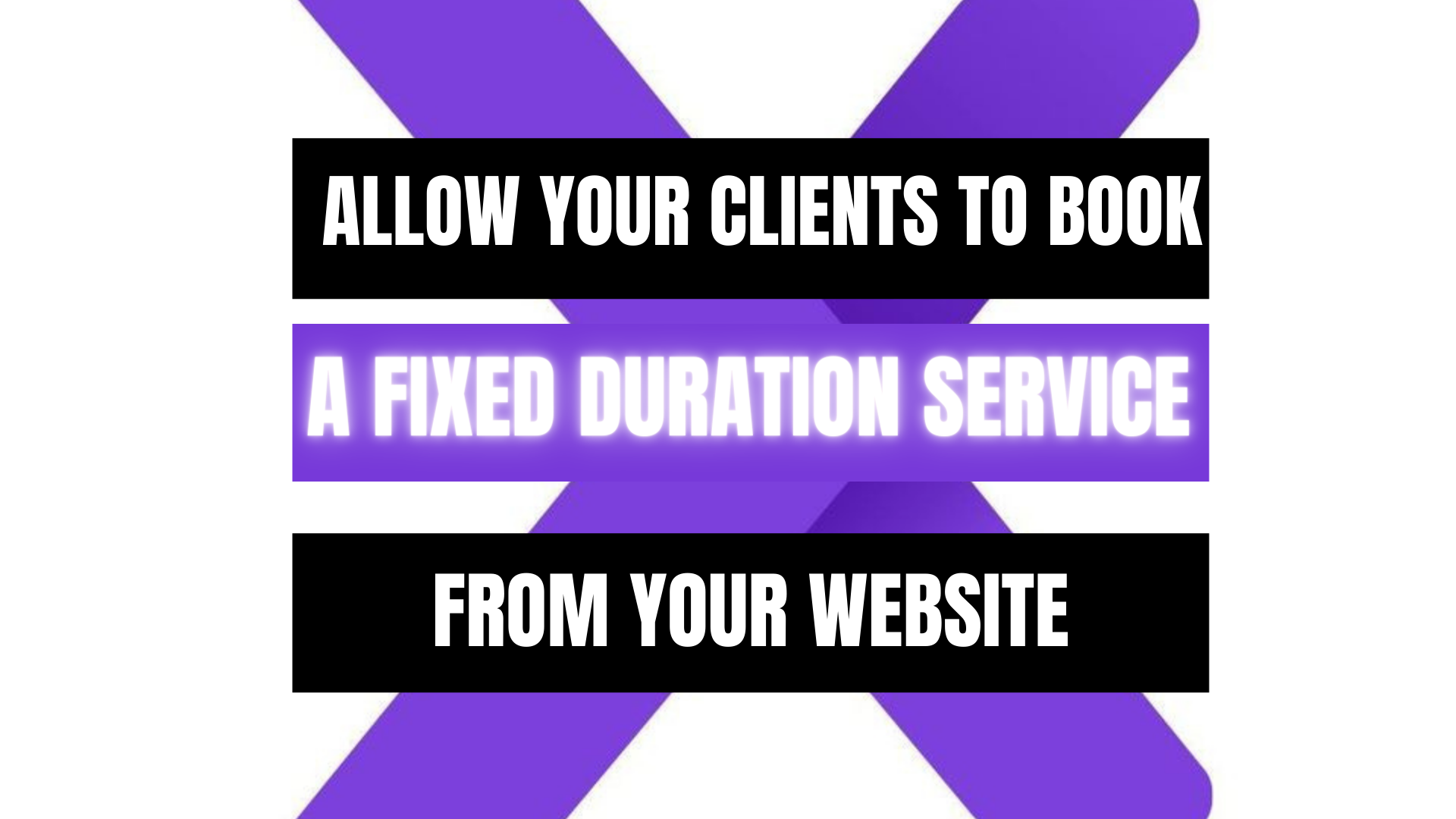 Peekaboox - How to set up a fixed duration service and how it works