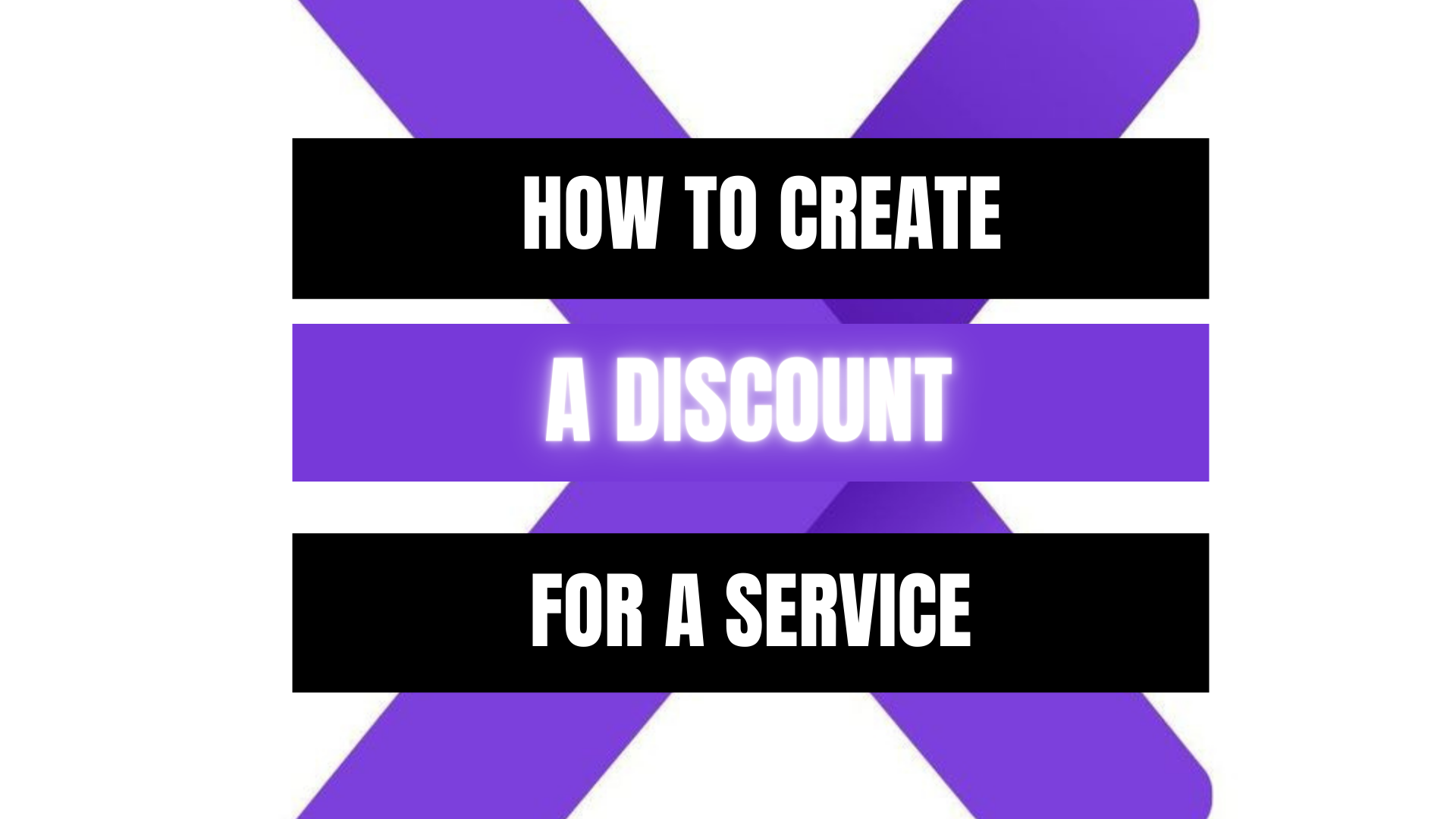 Peekaboox - Create Service Discount
