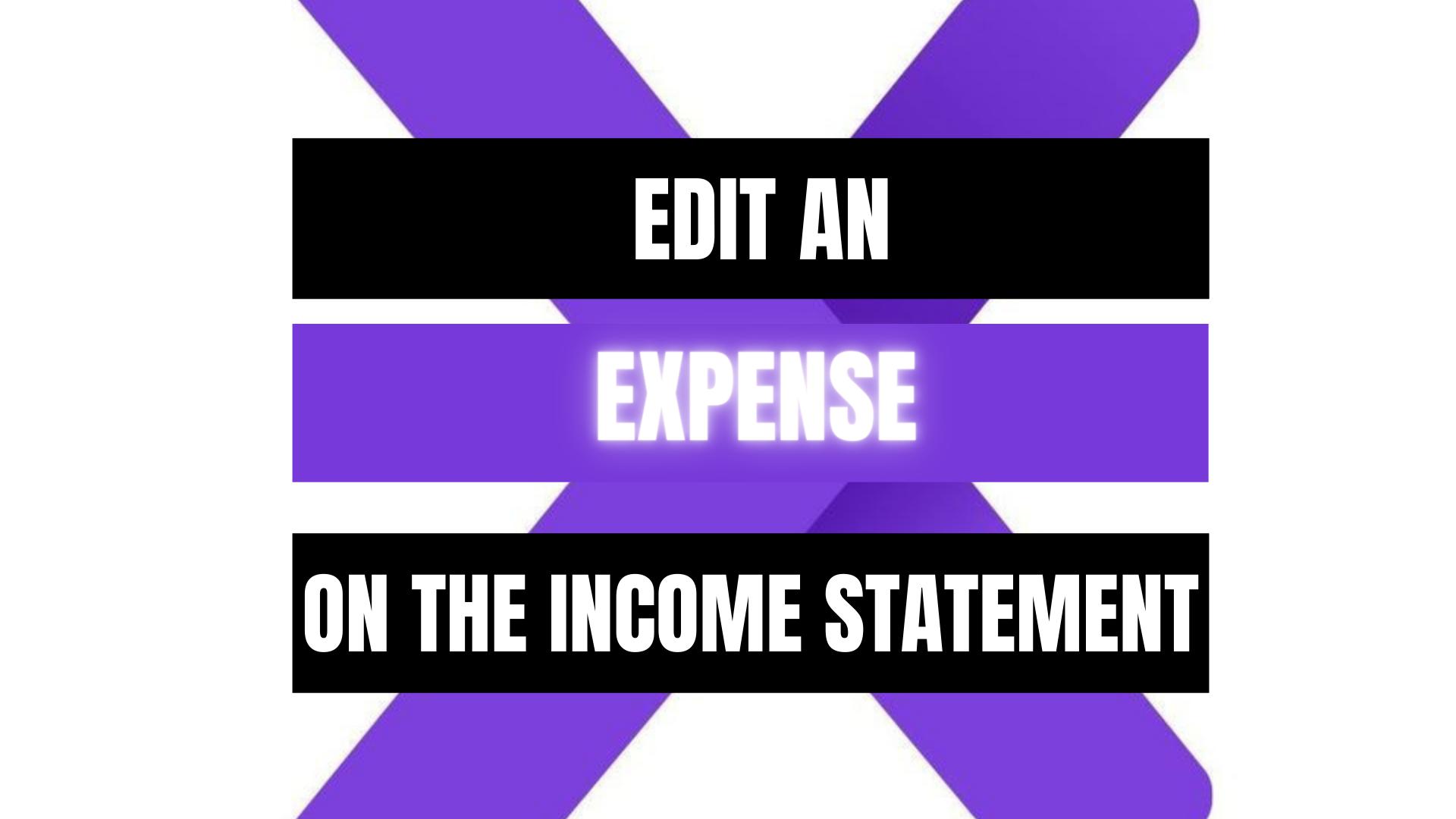 Peekaboox - Edit an Expense