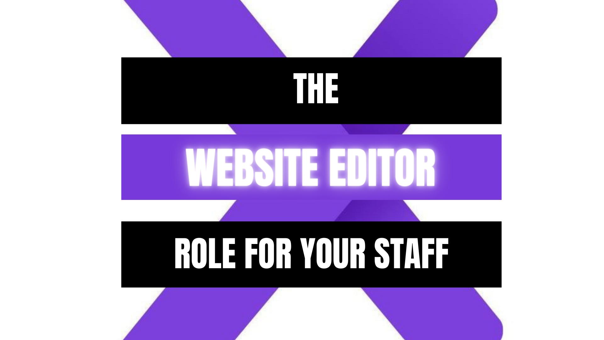 Peekaboox - Website Editor Role