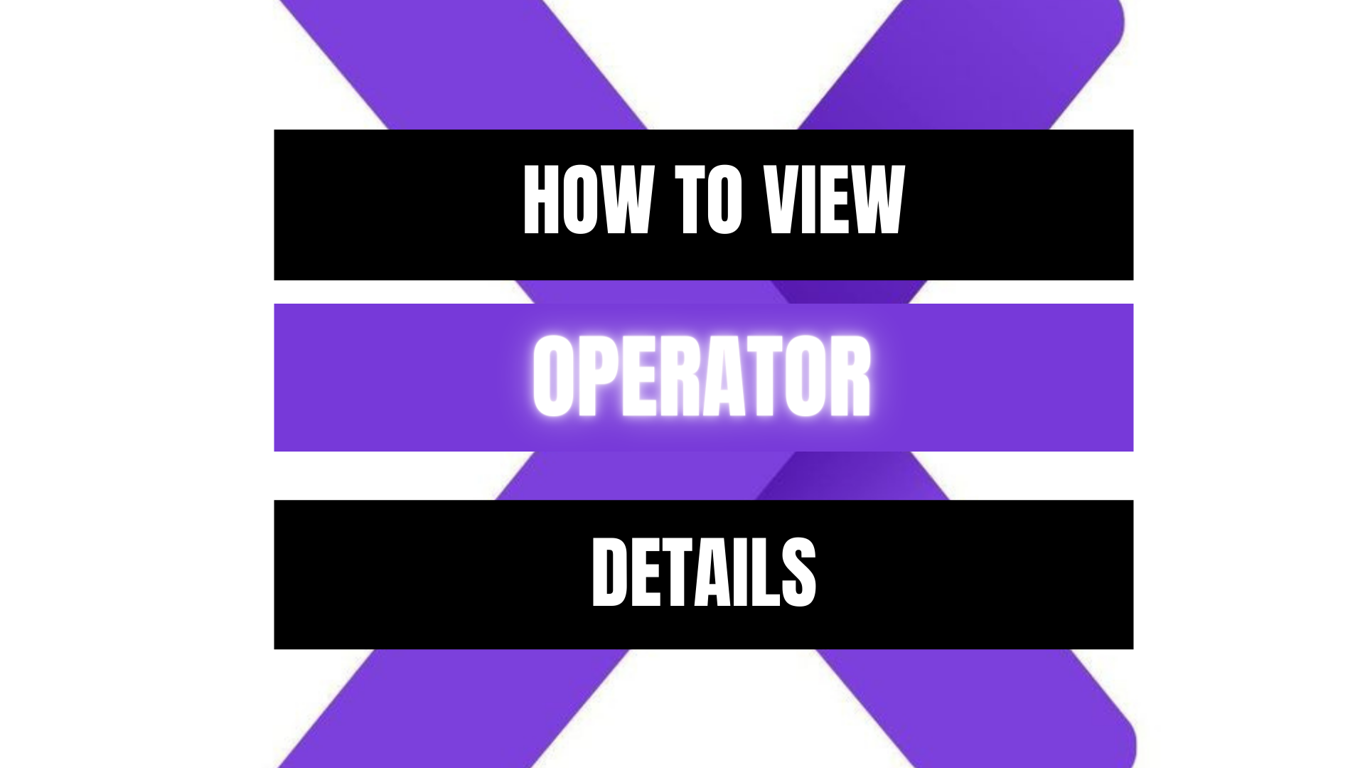 Peekaboox -     View Operator Details