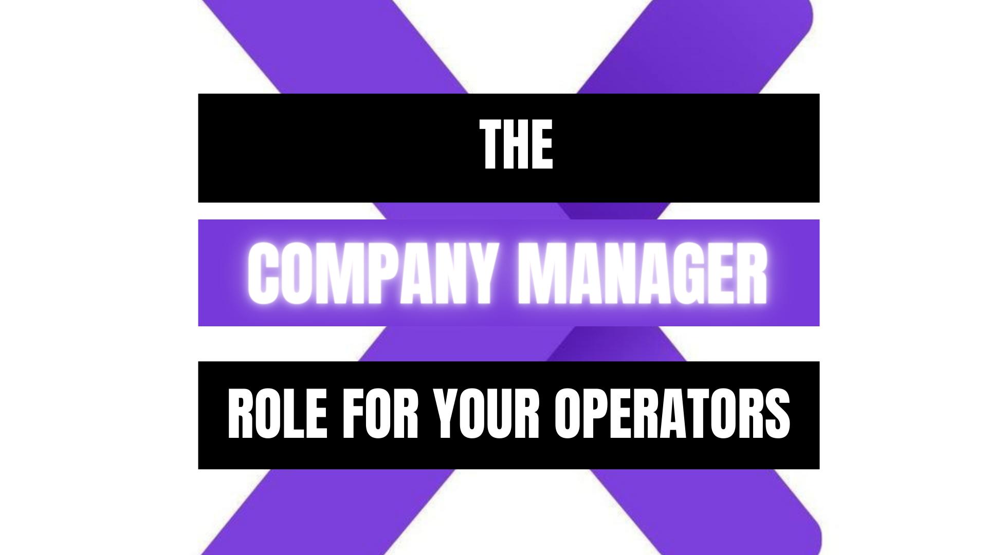 Peekaboox - Company Manager Role
