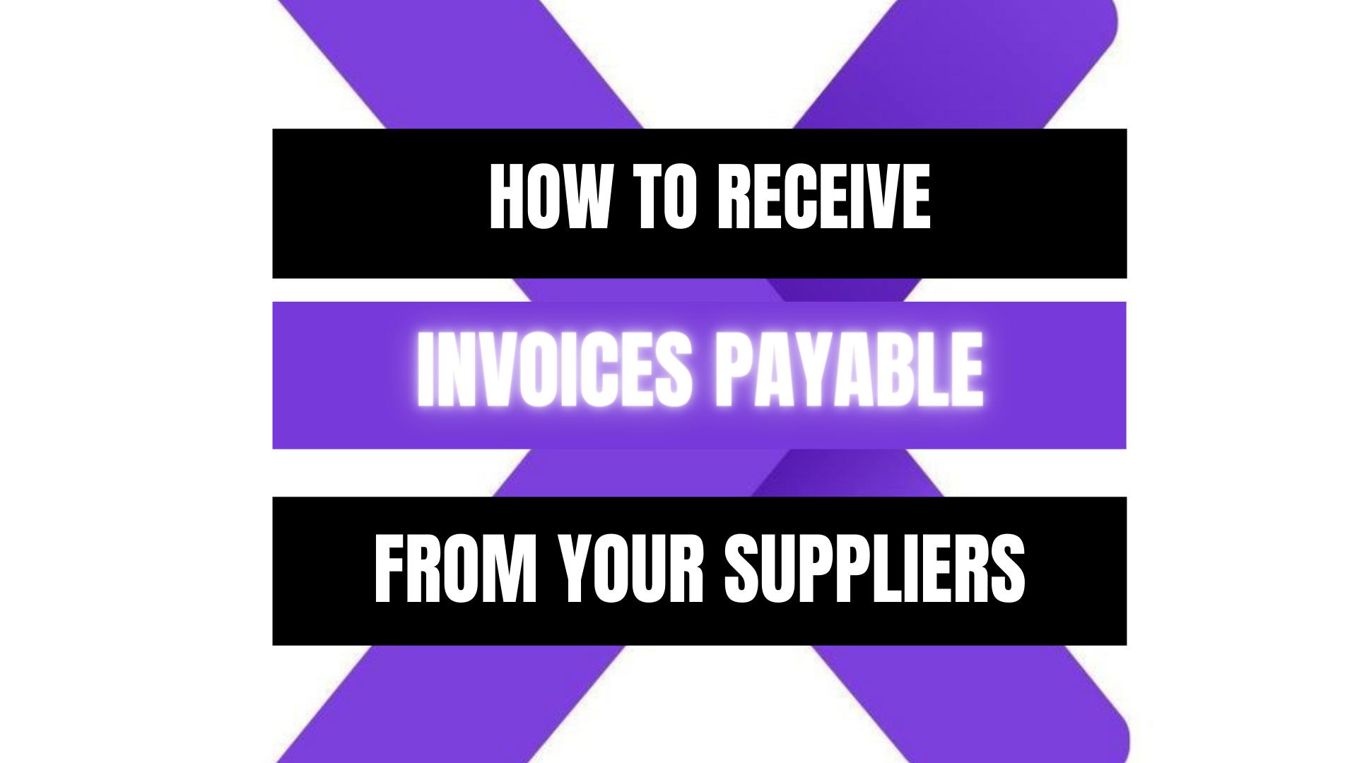 Peekaboox - Receive Invoices Payable